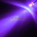 3mm LED Violett / UV - 30°