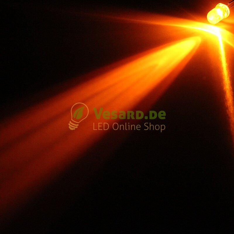 RING 3 verkabelte LEDs 5mm Warm Kalt Weiß Amber Blau Gelb Grün Rot RGB Pink UV